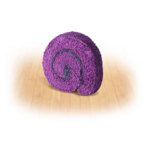 Ube Roll Slice