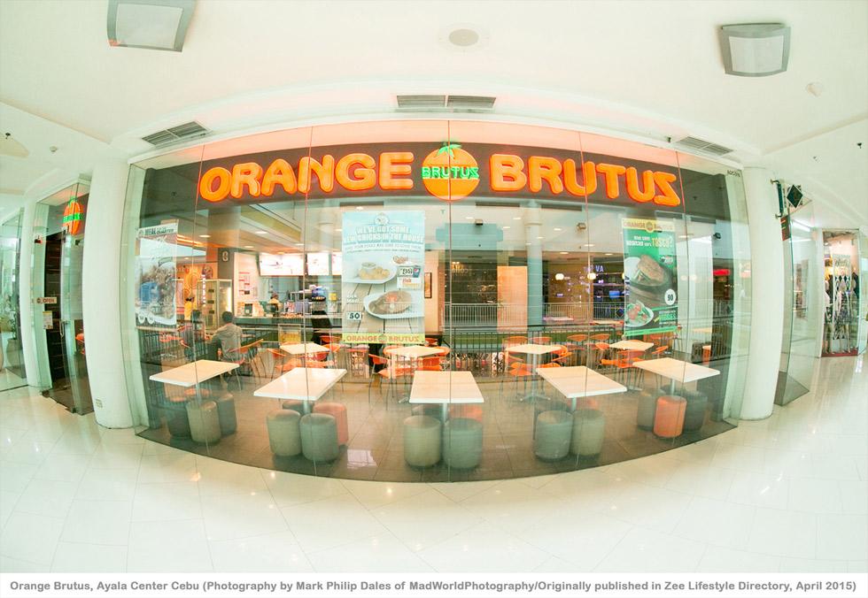 Orange Brutus Ayala